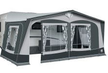 2020 Dorema President 250 All Season Awning in Charcoal