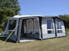 2019 Kampa Club Air Pro 390 Plus with Dual Pitched Roof