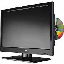 "Vision Plus 18.5"" HD TV, Satellite & DVD"