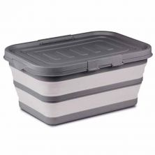 Kampa Collapsible Large Storage Box Grey
