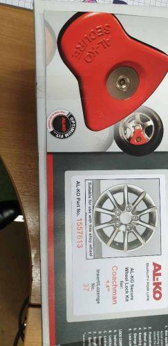 Alko Secure Wheel Lock Insert No37 for Coachman Caravans 37: New Subitem