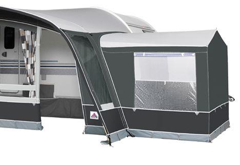 2020 Annex De Luxe Option for Octavia & Grande Octavia: Annex De Luxe with Pointed Roof Steel Framed: Annex De Luxe Rear Door Steel
