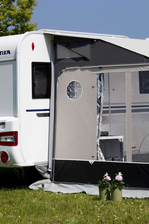 2018 Isabella Universal 420 Coal All Season Awning Wandahome