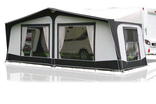 Bradcot Aspire 840 Inside Display Model Full Awning: Charcoal/Grey: Size 840 (826-855): Alloy Frame Upgrade