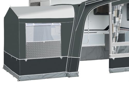2019 Annex Option for Octavia Standard Awning: Annex Tall with Pointed Roof Steel Frame in Charc: Annex Tall