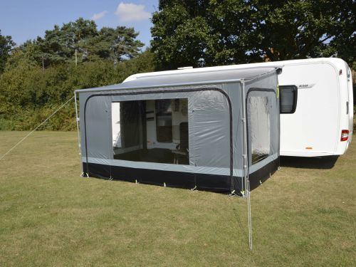 2019 Kampa Revo Zip Roll Out Awnings: Revo Zip 200: Revo Zip 200 + Extra Roof Rafter Pole