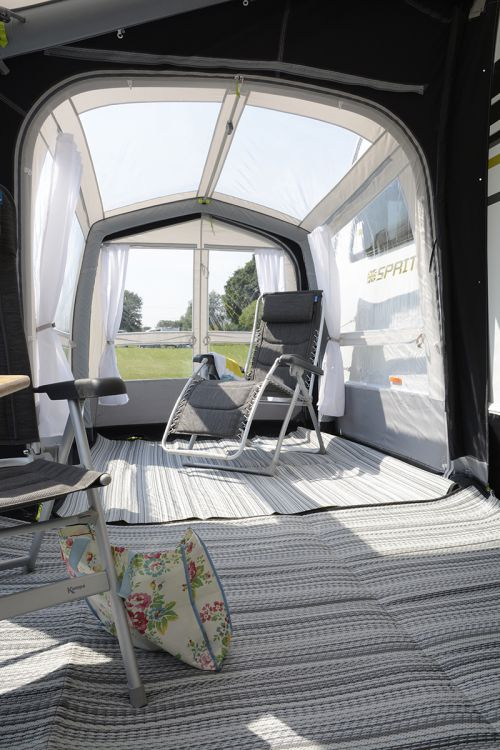 2018 Kampa Rally Air Pro 330 390 Dual Pitch Roof Wandahome