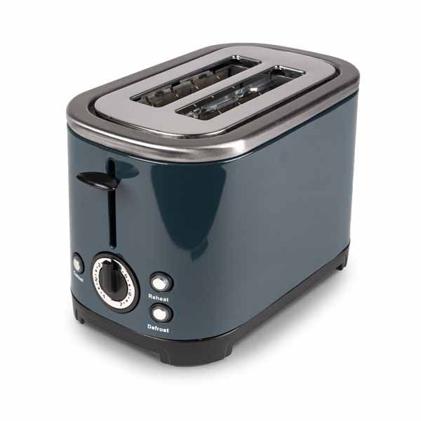 Kampa Deco Stainless Steel Toaster Grey