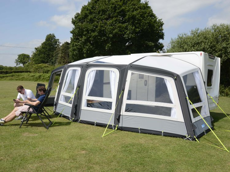 2018 Kampa Frontier Air Pro 300 Amp 400 Dual Pitched Roof